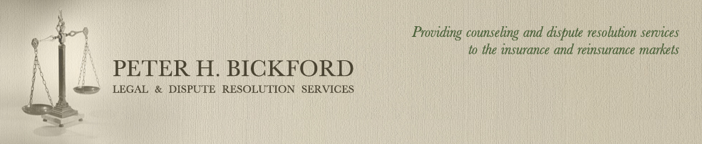 Peter H. Bickford Legal & Dispute Resolution Services